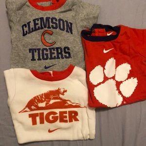 Nike Clemson University Onesies (size 3-6 months)